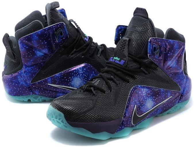 online store 37c2d 049da Lebron 12 Galaxy ON Sale0   Lebron 12 Mens for sale   Nike lebron, Nike,  Sneakers