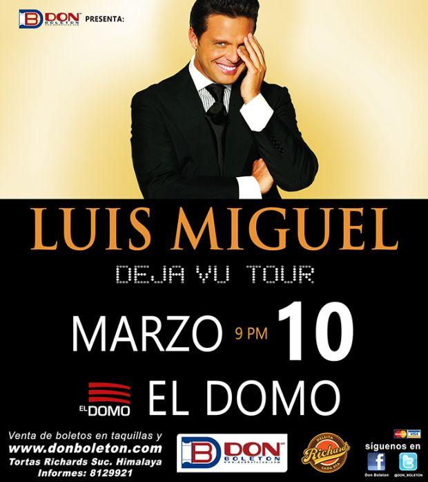 Promo! Luis Miguel San Luis Potosí, participa en http://agendasanluis.com/eventos/luis-miguel-en-san-luis-potosi-2015