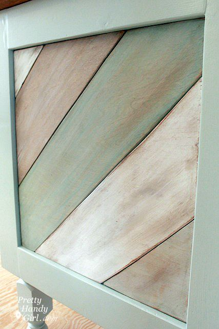 Tutorial for Sarah Richardson Cottage style wood planks -- use for sofa table top makeover