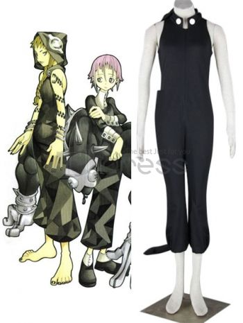 Soul Eater Medusa Black Cosplay Costume, Not only you will enjoy an unforgettable moment but also you will be satisfied with the high quality of this gorgeous costume. The unique design of the costume makes you the same as Medisa in this Soul Easter cosplay costume. The vivid black makes your charming and the fashion design shapes your body line perfectly. The soft kadanron material is comfortable and durable. I bet you will like it! Why not?!