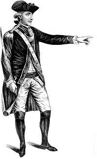 Major John André was born on 2 May 1750 in London to wealthy Huguenot parents, Antoine André, a merchant from Geneva, Switzerland, and Marie Louise Girardot, from Paris, France. At age 20, he entered the British Army and joined his regiment, the 23rd Foot, in Canada in 1774 as a lieutenant. He was captured at Fort Saint-Jean by General Richard Montgomery in November 1775, and held a prisoner at Lancaster, Pennsylvania. He lived in the home of Caleb Cope, enjoying the freedom of the town as…