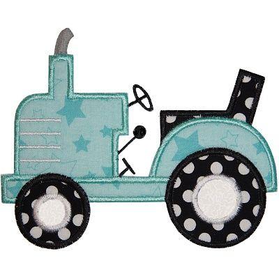 Tractor 2 Applique