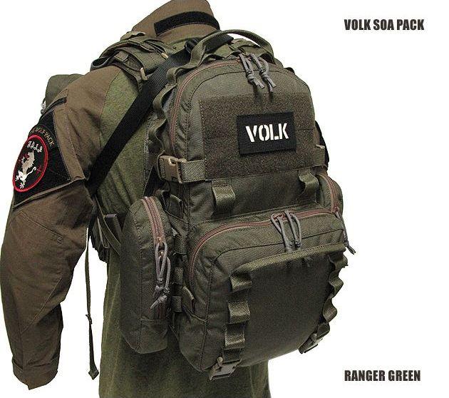 La marque VOLK propose un sac tactique avec de nombreuses poches et rangements pour moins de 250€ http://www.survival-gear.fr/textile/sac-tactique-volk-soa-pack.html