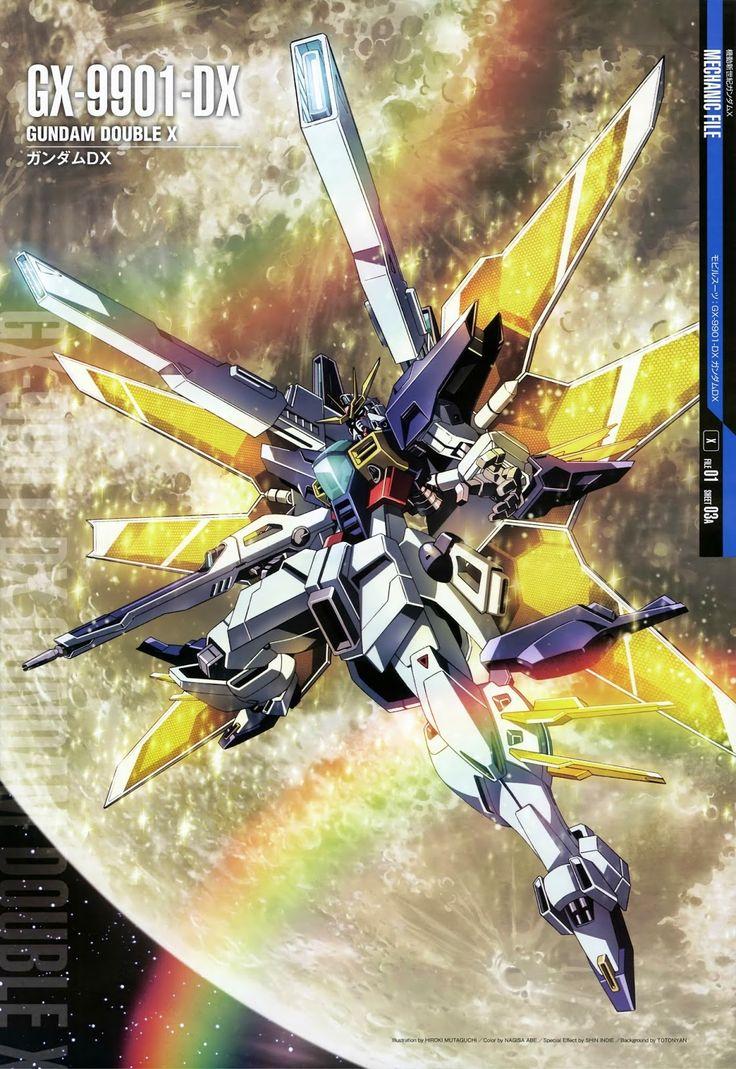 Mobile Suit Gundam Mechanic File - GX-9901-DX Gundam Double X