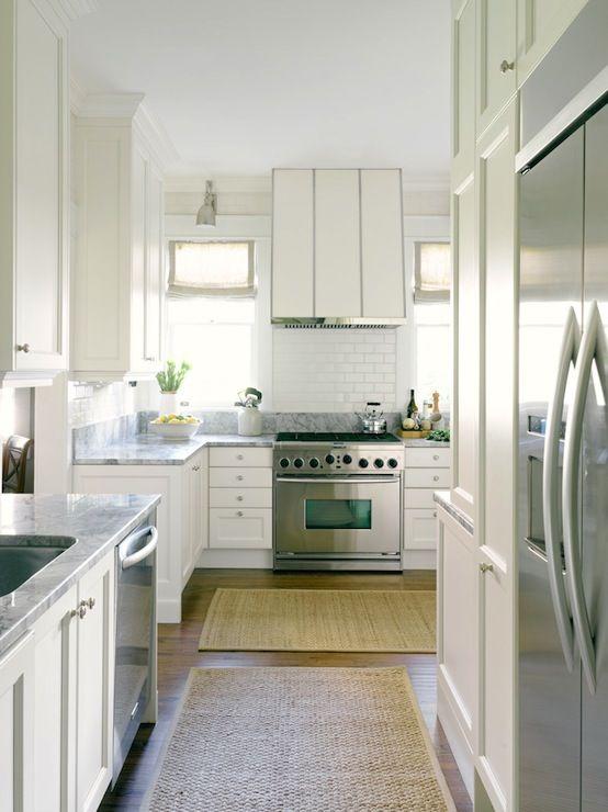 Super White Granite Countertops - Transitional - kitchen - HammerSmith