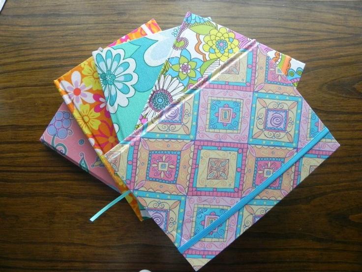 Cuadernos hechos a mano!!!