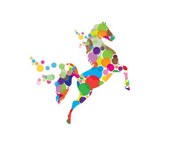 Etsy logo, Business logo, Custom logo design for Animals, Horse, Riding School $150.00