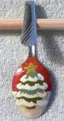 Painted Spoon Ornaments