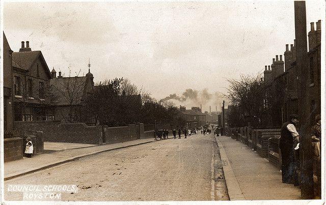 Royston - Midland Road, stamped 1914 | Flickr - Photo Sharing!
