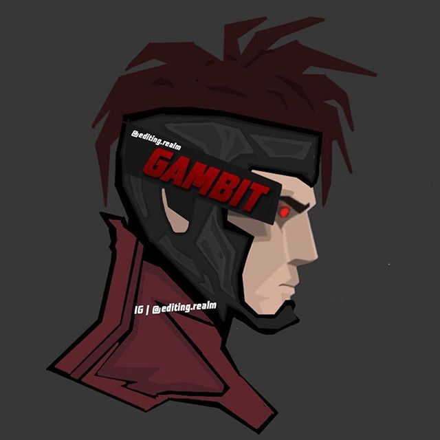 Gambit^ Inspired by: @bosslogic • Feel free to repost just give me credit (tag…