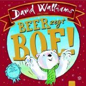 Beer zegt boe! Een kleine ijsbeer vindt niets leuker dan andere dieren te laten schrikken.
