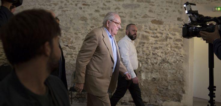 Jean-Marie Le Pen vs le FN le dernier combat judiciaire du Menhir - L'Obs