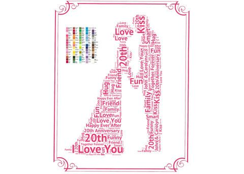 Best 25 20th Anniversary Gifts Ideas On Pinterest 20th