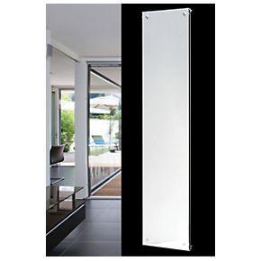 Oceanus Vitro Vertical Designer Radiator Mirror 1800 x 445mm 2367BTU