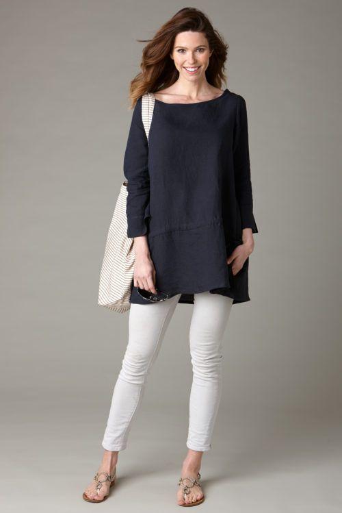 Best 25  Black tunic dress ideas on Pinterest | Black dress shirt ...