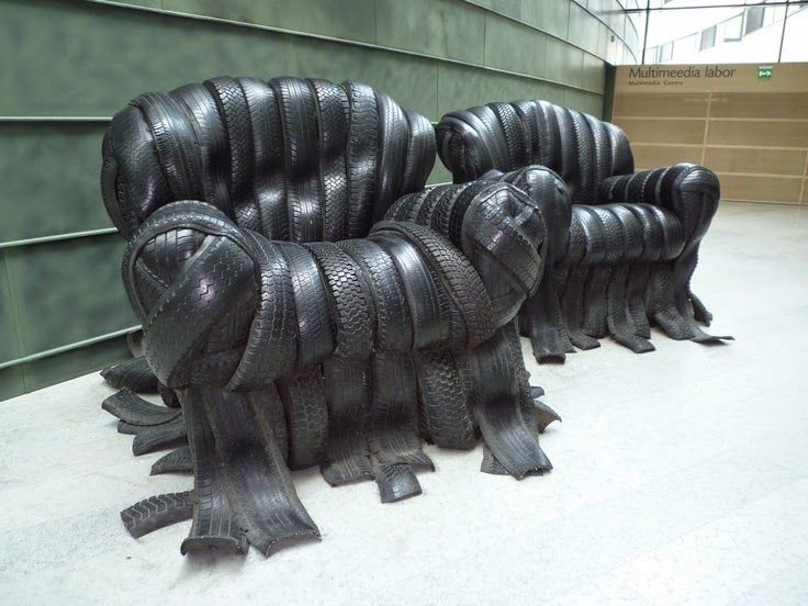 Amazing Designs are made from waste rubber Tires - NewBeetle.org Forums