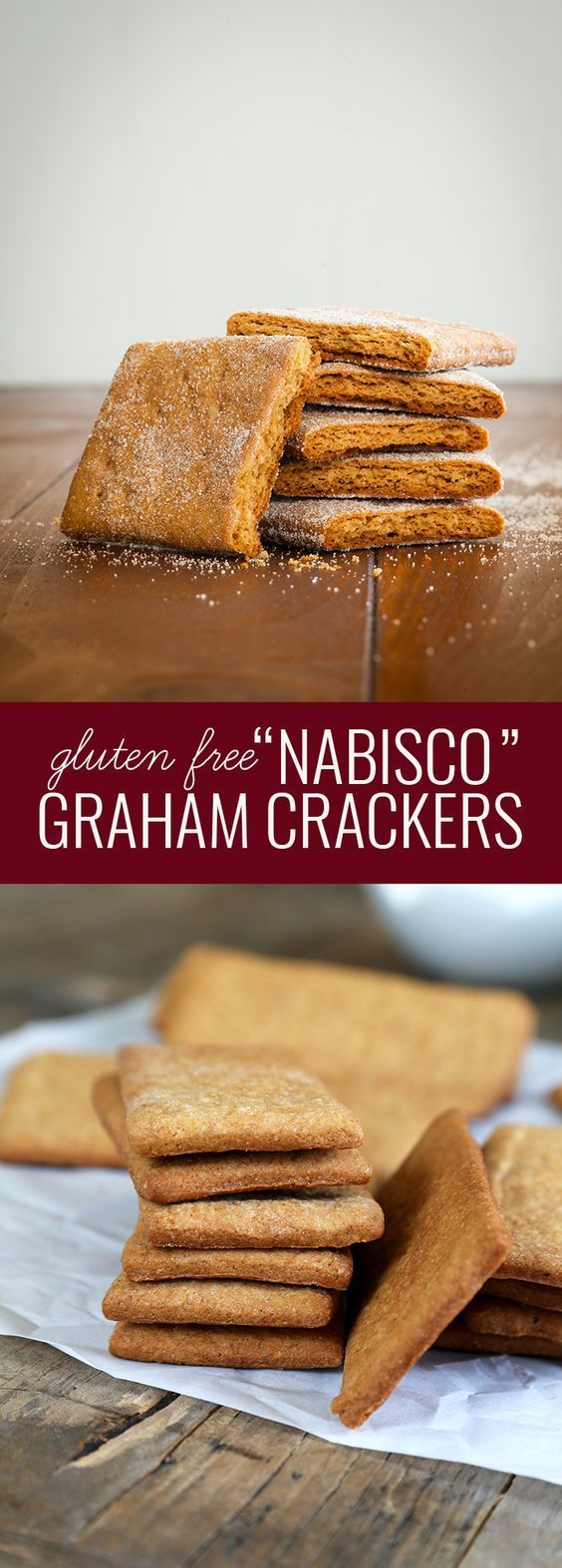 "Gluten Free ""Nabisco"" Graham Crackers. Just like the ""real thing""!"