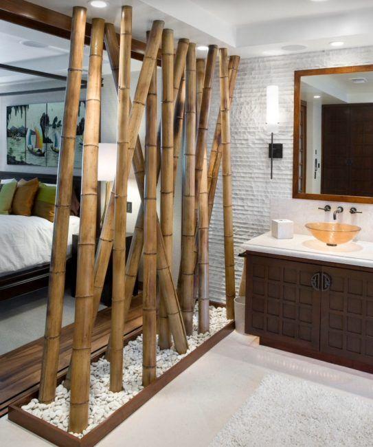 Utiliza cañas de bambú para decorar tu casa!