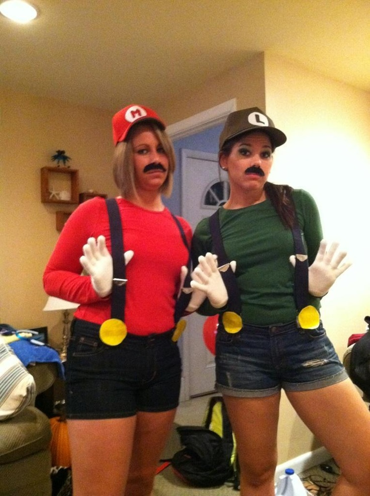 twitter recent images by esorokes015 mario and luigi halloween costume - Girl Mario And Luigi Halloween Costumes