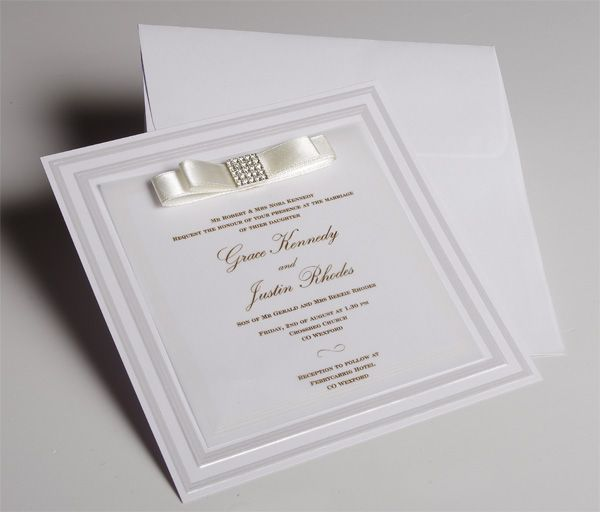 27 best white wedding invitations images on pinterest white white wedding invitations uk new satin weddingsoon stopboris Image collections