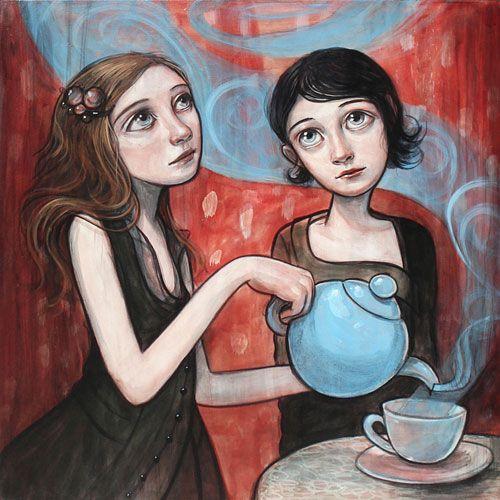 One of my favorite artists, Kelly Vivanco.