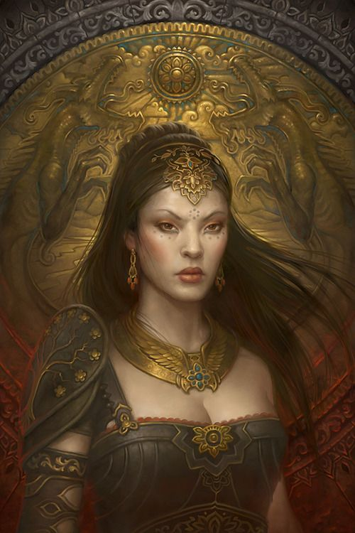 ✯ Howard Lyon ✯ s..s gold encrusted lady of substance! Kpz