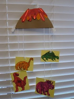 Dinosaur decorations Corban can help!