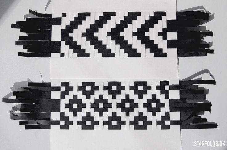 Paper weaving - Starfolds.dk