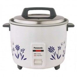 Panasonic SR-W18GH-CMB Rice Cooker Description It will also keep your rice warm for longer. Rice cooked in this electrical appliance will also preserve the nutrients, and give a consistent result every time you use it.
