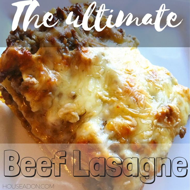 ...so a huge family favourite has got to be The Ultimate Beef Lasagne that I made earlier this week...Its super easy, really quick and fun to make...