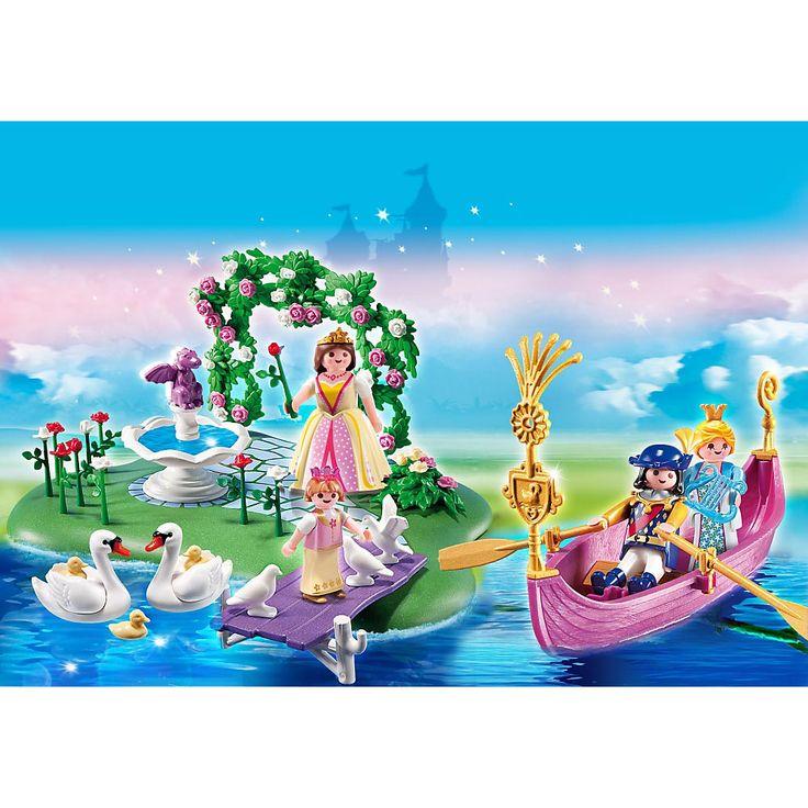 Playmobil Księżniczki Zestaw jubileuszowy Wyspa księżniczki plus romantyczna gondola, 5456, klocki