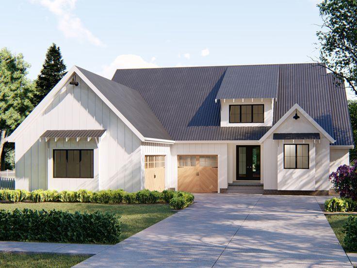 Plan 050h 0166 Find Unique House Plans Home Plans And Floor Plans At Thehouseplanshop Com Farmhouse Plans House Plans Farmhouse Modern Farmhouse Plans