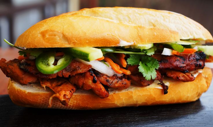 Grilled Lemongrass Pork Bánh mì | The {not so} humble sandwich ...