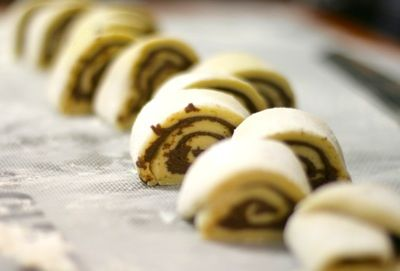 Thermomix Nutella Swiss Roll with Cream