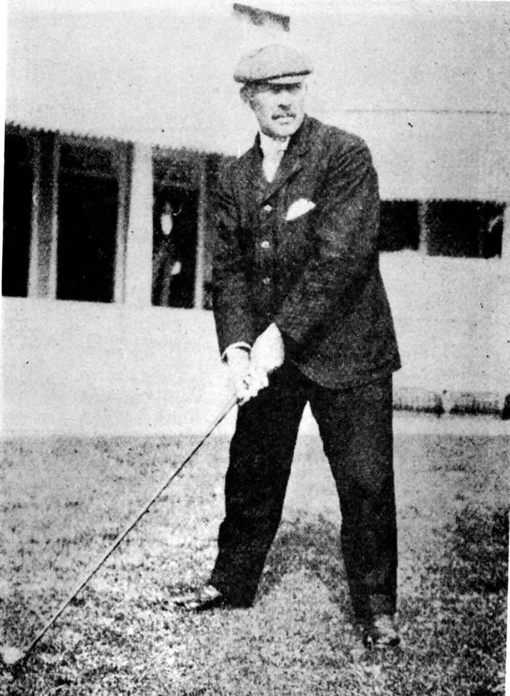 A Brief History of Golf in the Olympic Games | Olympic Golf  |  George Lyon 1904 Olympic  Champion