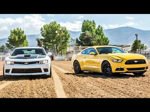 2015 Ford Mustang GT vs. 2015 Chevrolet Camaro SS - Head 2 Head Ep. 58 - YouTube