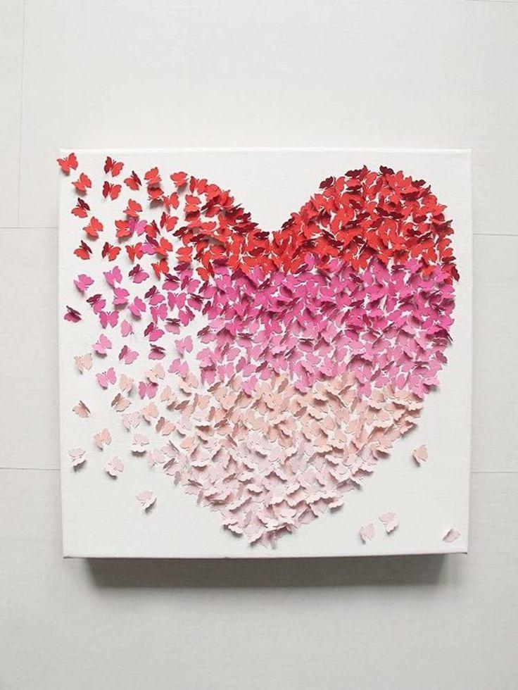 Как сделать картинку из сердечек