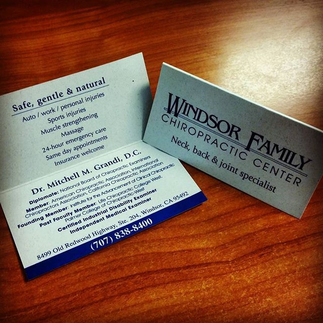 Looking For A Way To Include Lot Of Information Into Single Business Cards