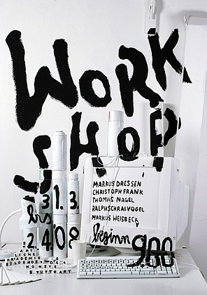 Work shop #graphic #design #poster //