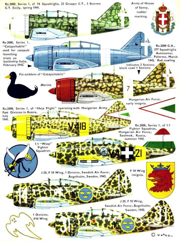 Reggiane RE2000 Falco 1