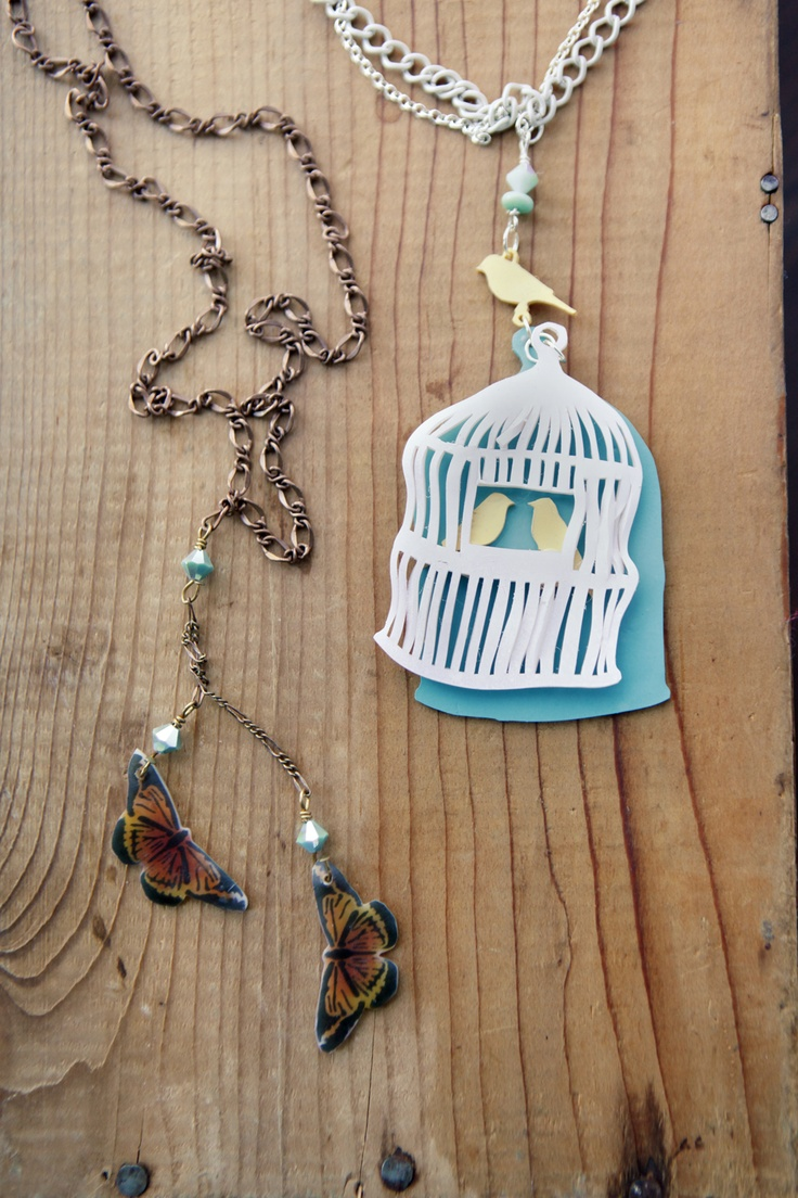 Learn how to make shrinky dink jewelry using Stencil1 ...