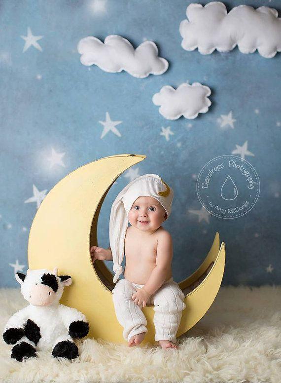 Moon Prop Moon Photo Prop Newborn Photography от MrAndMrsAndCo