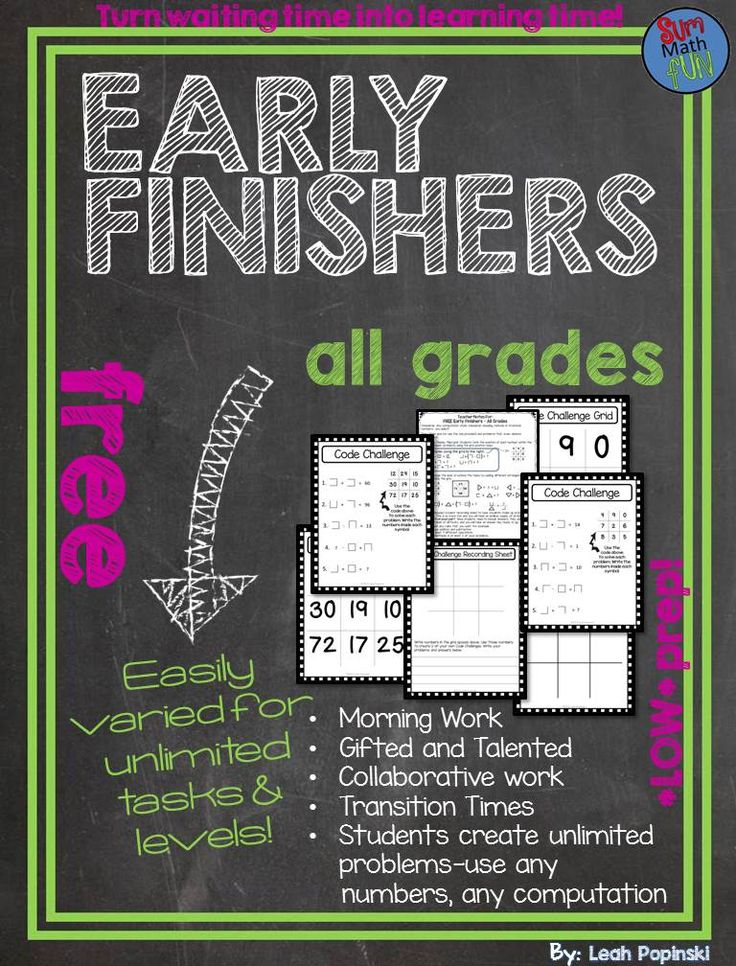 This math early finishers and gifted resource is a life saver! It is easily differentiated for any computation, any level, and works for rational and irrational number. It is super easy to prepare. Students create their own problems for an endless supply of new problems with no prep on your part! Plus...students creating and sharing problems raises the level of Blooms Taxonomy! A free download with endless math challenges for any level?? Yep! You just can't beat that!!