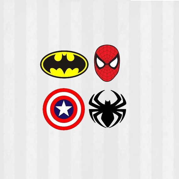 Superhero SVG Files bundle, 12 SVG Files, 4 PNG Files, Superhero Logo svg, Spiderman svg, Batman svg, Captain America svg, silhouette cameo - Visit to grab an amazing super hero shirt now on sale!