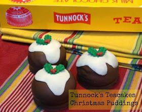 Easy Cheat - Tunnock's Teacake Christmas Puddings