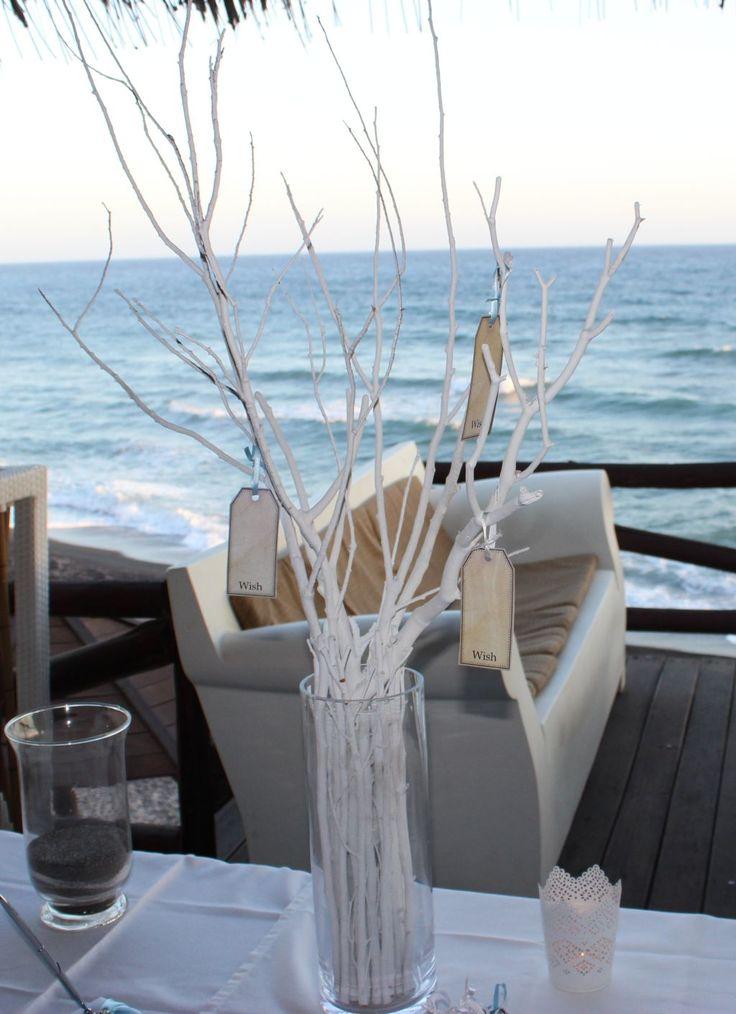 Beach style wishing tree!