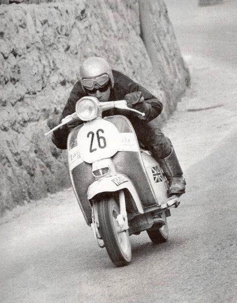 Team S Equipe Lambretta racer Norman Ronald
