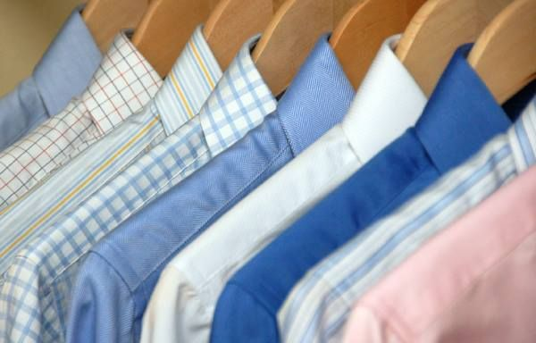 Executive shirt laundering and pressing - All of our shirts are laundered on premises, nothing is sent out. Your shirt will come back to you meticulously hand finished and presented neatly folded or on a hanger (your choice).