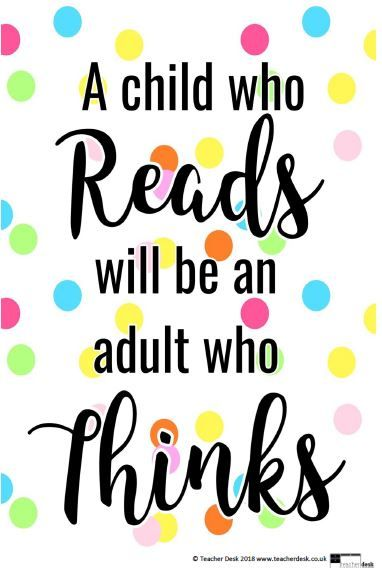 World Book Day - Inspirational Reading Posters - Quotes ...