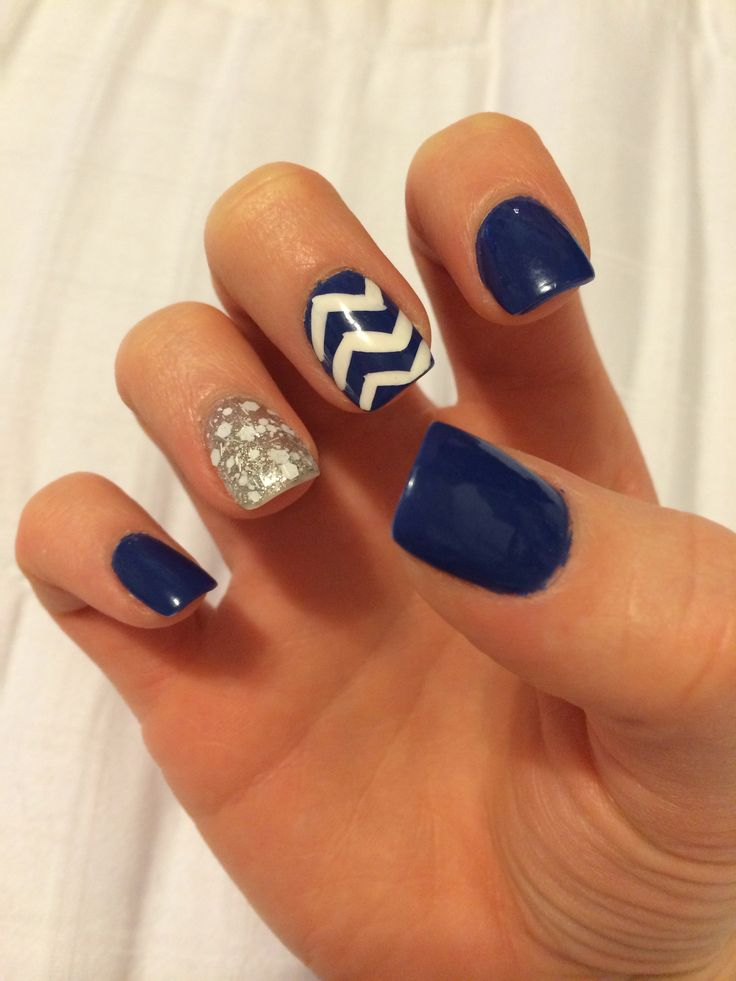 Navy nail art ledufa original nail art designs follows inspiration article  prinsesfo Image collections - Navy Nail Art Image Collections - Nail Art And Nail Design Ideas